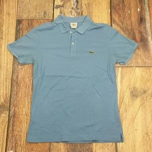 Lacoste Polo Light Blue Size 5 medium